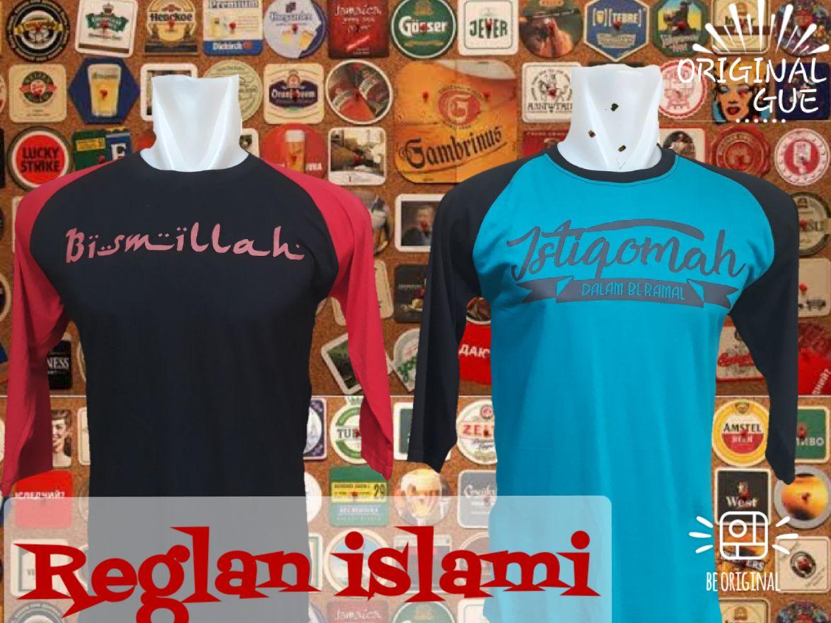 Grosir Kaos Distro Parahyangan Bandung Sentra Grosir Kaos Distro Raglan Islami Dewasa Murah Bandung 30Ribu