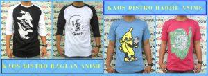 Grosir Kaos Distro Parahyangan Bandung Distributor Kaos Distro Anime Dewasa Murah Bandung