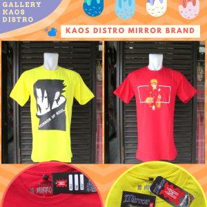 Grosir Kaos Distro Parahyangan Bandung Produsen Kaos Distro Mirror Brand Murah
