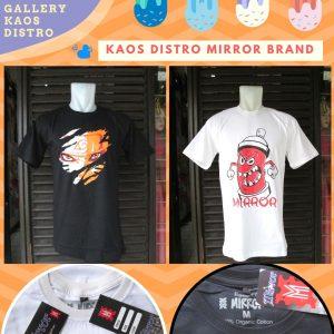 Grosir Kaos Distro Parahyangan Bandung Reseller Kaos Distro Mirror Brand Dewasa Murah di Bandung