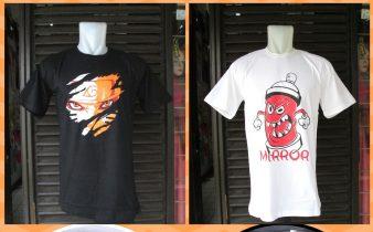 Grosir Kaos Distro Parahyangan Bandung Produsen Kaos Distro Mirror Brand Dewasa Murah di Bandung 34Ribu