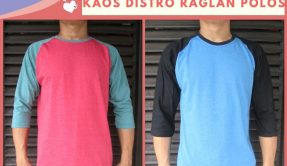 Grosir Kaos Distro Parahyangan Bandung Supplier Kaos Distro Raglan Polos Dewasa Termurah di Bandung 30Ribu