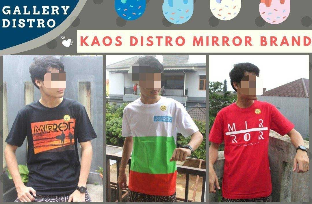 Kaos Distro Surfing Mirror
